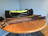 Jaxx junior golf set age 7-12 with 4 clubs.