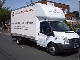 Removal services, Man & Van London