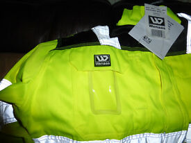 Wennas Hi Viz Light wear Jacket Large -New