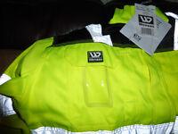 Wennas Hi Viz Light wear Jacket Large -New