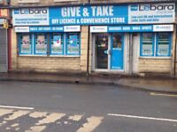 Off licence buscinuse for sale