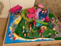 Polly Pocket Roller Coaster Resort playset