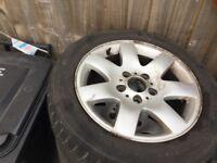 "BMW e46 16"" alloy wheels"