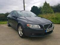 2008 VOLVO S80 2.0 DIESEL SOLD WITH FULL YEARS MOT POSSIBLE PART EXCHANGE CREDIT CARDS ACCEPTED