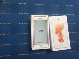 APPLE IPHONE 6S 16GB ROSE GOLD UNLOCKED IMMACULATE CONDITION