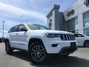 2017 Jeep Grand Cherokee LIMITED LEATHER, SUNROOF, HEATED SEATS