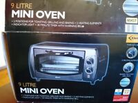 9 litre mini oven from delta kitchen
