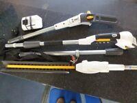 Alpina MT2148L Cordless Pole Pruner & Hedge Trimmer Kit