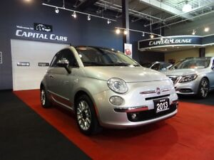 2013 Fiat 500C LOUNGE CONVERTIBLE / BLUETOOTH / POWER GROUP