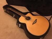Turner UK Hand Built Electro Acoustic Guitar with hardcase