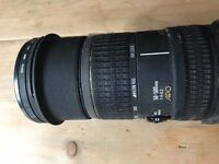 50-500mm Ultra Telephoto Sigma Lens for Canon