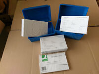 750 Hotel Guest Registration Cards - 3 packs of 250 plus storage boxs and index cards