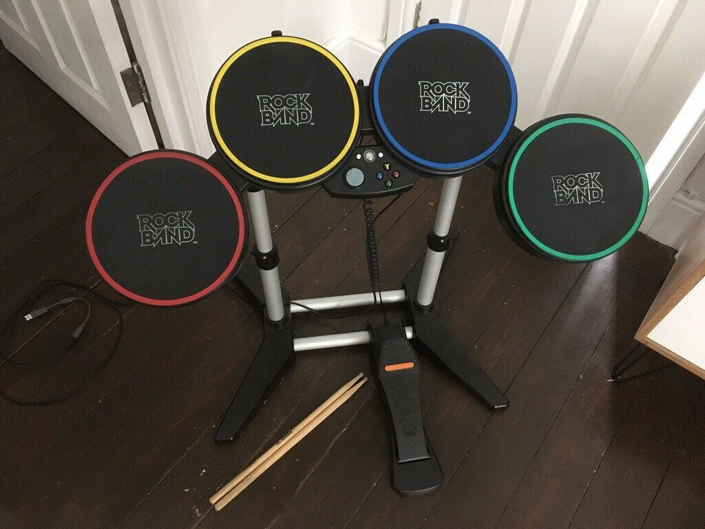 Rock Band Xbox 360 Drums / Les Paul Guitar / Beatles Game | in Vauxhall,  London | Gumtree