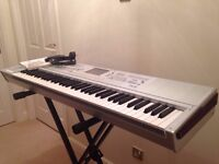 Korg M3 Music Workstation/Sampler Keyboard - Full Working Order WITH flightcase!