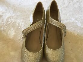 Gold 2inch Heels and Brown 2 inch heels