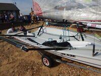 Blaze sailing dinghy 696