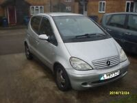 Mercedes A class Avangarde 2003- Diesel, Automatic for sale