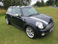 2007 BMW MINI COOPER 1.6 3DR HATCH MOT MAY 2017 SERVICE BILLS LEATHER XENON LIGHTS GOOD CONDITION