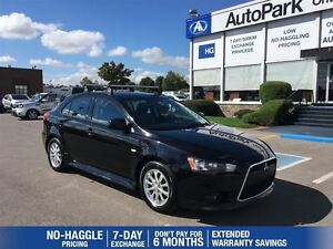2012 Mitsubishi LANCER SPORTBACK SE|5 Speed Manual| Heated Leath