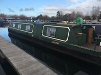 Reduced for quick sale Widebeam liveaboard narrowboat houseboat near london