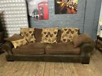 HARVEYS FABRIC 3 SEATER IN EXCELLENT CONDITION
