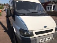 Ford transit minibus 15 seater for sale