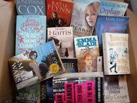 Box of Novels mostly new