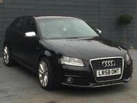 Audi A3 2.0 diesel S line automatic HPI clear