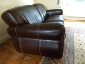 Leather Chateau d'Ax sofa