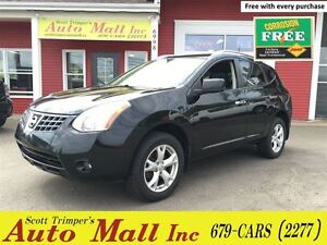 2010 Nissan Rogue SL AWD With Leather/ Sunroof
