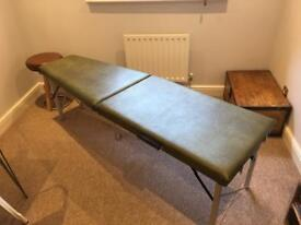 McTimoney Chiropractic Bench & Stool