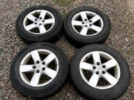 4x Alloy Wheels and Winter Tyres
