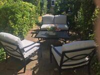 4 Piece Marlow Garden Lounge Furniture Set