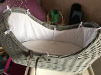 Baby Moses Basket with mattress - FREE!