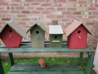 Bird nest boxes