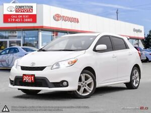2011 Toyota Matrix One Owner, No Accidents, Toyota Serviced