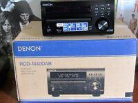 DENON RCD-M40 MIDI HI-FI AND SPEAKERS