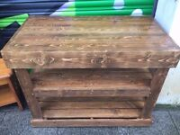 SOLID JOINER MADE HEAVY WORK OR DISPLAY UNIT