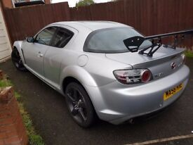 Mazda RX8 with racing chip