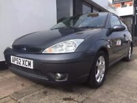 Ford Focus 1.6 i Chic 3dr BLACK HEATED LEATHER SEATS