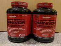 2x Carnivor Beef Protein 56 servings