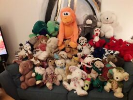 SOFT TOYS FOR COLLECTION IN BERMONDSEY SE16