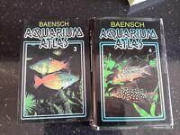 Set of Baensch tropical fish books