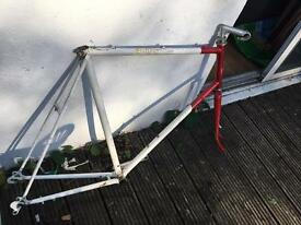 Big Raleigh bike frame project
