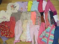 2-3 Years Old Girl Clothes Bundle 35 items