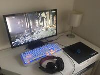 Corsair Hight Spec gaming computer. 16gb ram. 3.2ghz CPU. Windows 10 Pro/64. GTX970 GPU. 1TB SSD.