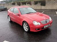 **2006 MERCEDES C220 CDI SE COUPE*F.S.H*FINANCE AVAILABLE*