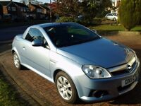 convertible tigra for sale in immaculate condition with 12 months mot