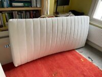 IKEA single bed, with pull out bed below (truckle bed) x 2 clean mattresses