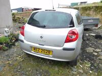 2006 Renault Clio MK3 2 Door Shell Not Recorded Not Damaged